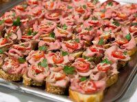 Roastbeef Brötchen vom Gasthof zur Linde