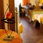 Stimmungsvolle Dekoration im Gasthof zur Linde