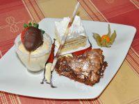 Dessertvariation im Gasthof zur Linde