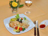 Pariser Schnitzel im Gasthof zur Linde
