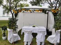 Hochzeitspavillon am Zicksee