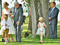 Braut und Brautvater am Zicksee