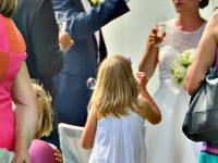 Sektempfang bei der Hochzeit am Zicksee