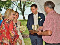 Die Lindenwirtsleut bei der Hochzeit am Zicksee