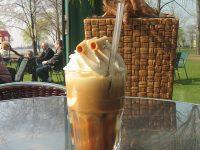 Eiskaffee im Papillon