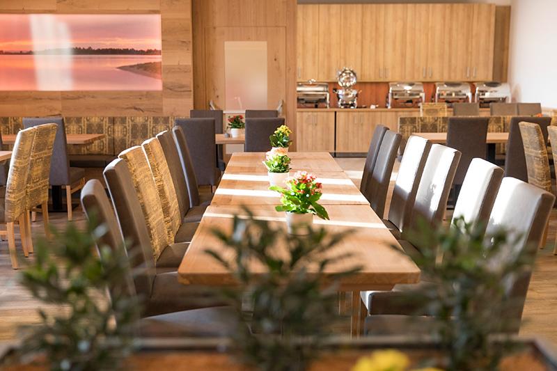 Der neue Speisesaal im Gasthof zur Linde