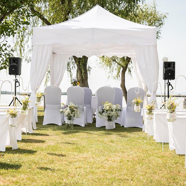 Hochzeitspavillon in St. Andrä am Zicksee